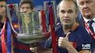 Iniesta fue elegido mejor jugador de la final de Copa