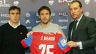 Joan Verd�, en su presentaci�n como nuevo jugador del Levante