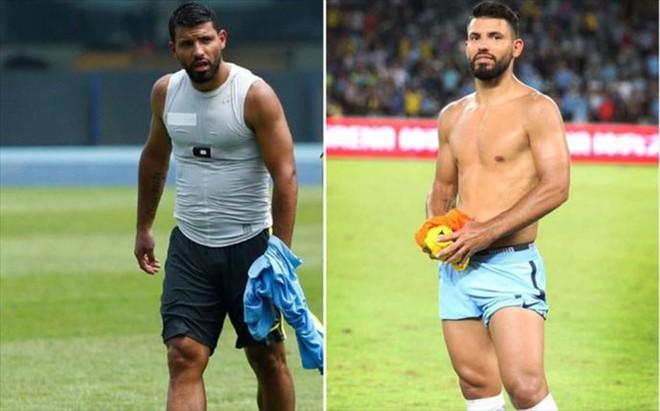 'El Kun' Ag�ero marc� y acall� todas las dudas sobre su supuesta obesidad