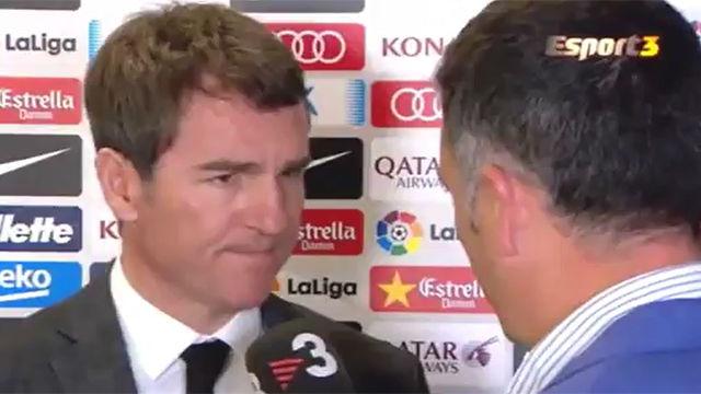 Robert confirmó que el Barça recuperará a Deulofeu