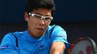 El surcoreano Chung, una de las sorpresas del torneo