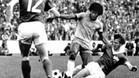 Una imagen de aquel histórico Brasil-RDA de 1974