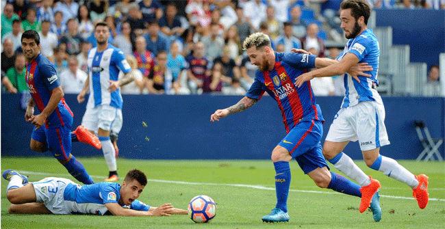 Los tres 'pepinos' del Barça conquistan Leganés