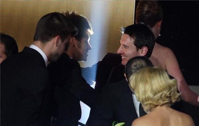 Neymar felicitó a Messi por el premio ganado | Foto: VALENTI ENRICH