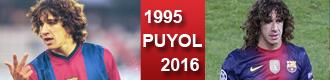 Puyol, de la Pobla a la gloria