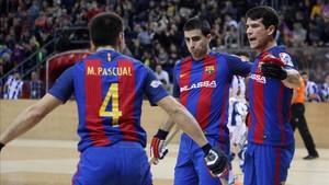 El Barça quiere celebrar goles ante el Vendrell este sábado en el Palau