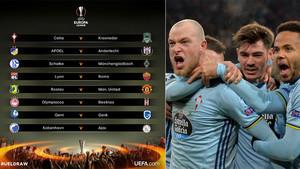 Encuentros de los octavos de final de la Europa League