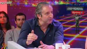 Josep Pedrerol, durante su entrevista a Yu No Te Pierdas Nada