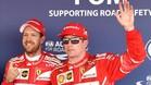 Vettel y Raikkonen arrancarán primero y segundo en Sochi