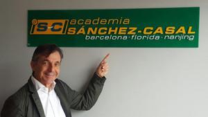 Emilio Sánchez ha seguido unido a Sergio Casal con sus academias