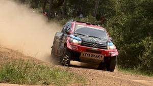Al-Attiyah durante la última edición del Dakar