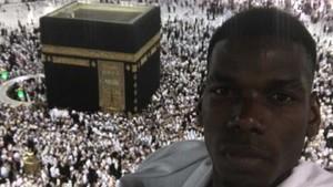 Pogba, en La Meca