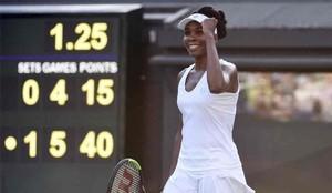 Venus Williams está implicada en un accidente