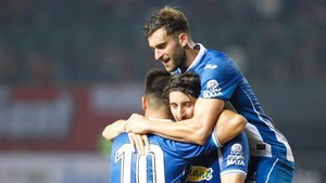 El Espanyol goleó en Olot con Baptistao como protagonista