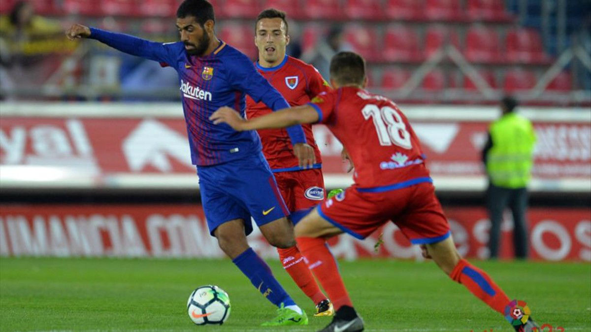 La Liga 123   Numancia - Barcelona B (1-0)
