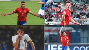 Abel, Sergio, Miranda y Mateu tienen un papel destacado en el Mundial Sub-17