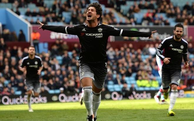 Alexandre Pato celebra su �nico gol en el Chelsea