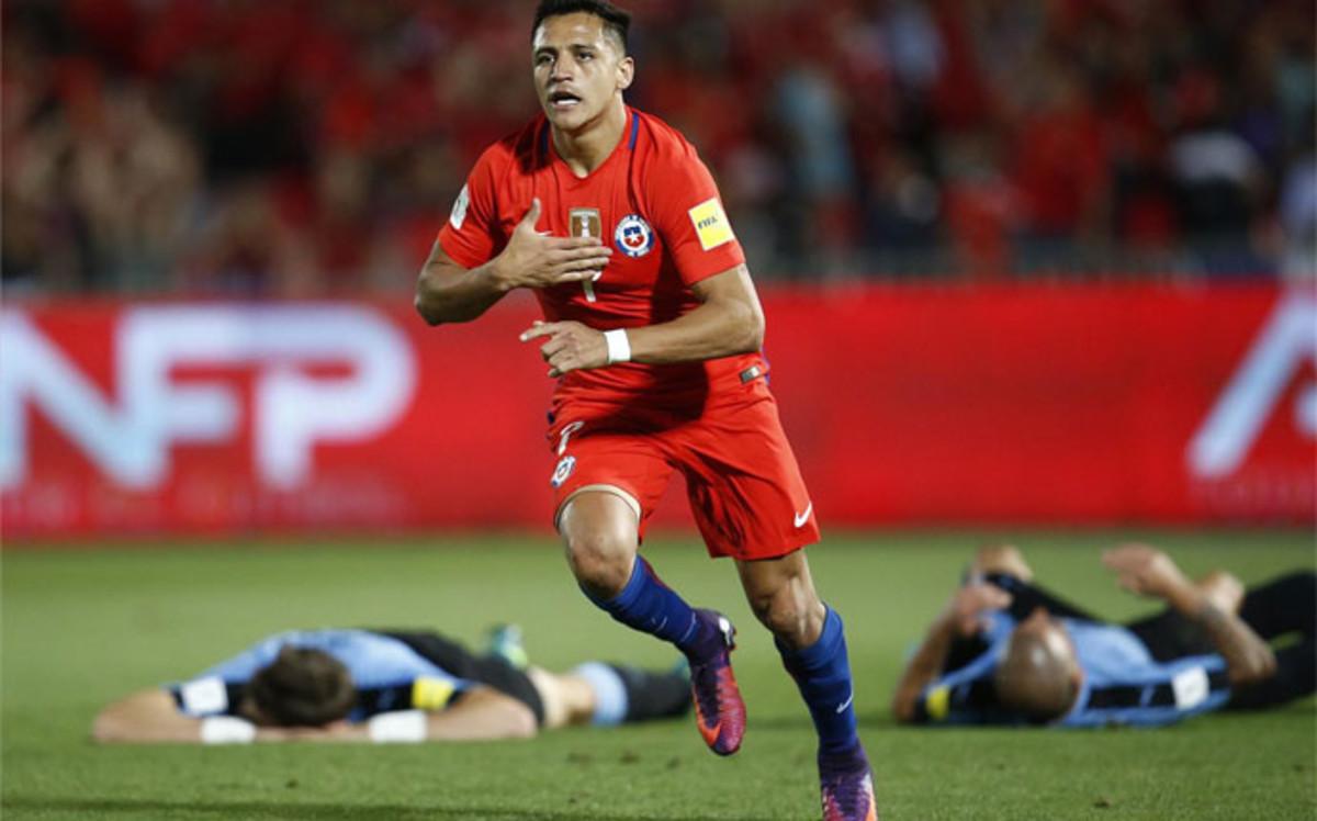 Alexis on fire tanto en la selección como en el Arsenal