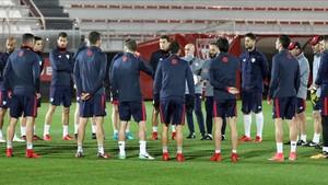 El Athletic prepara el duelo con el Hertha en San Mamés