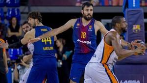 El Barça dio la de cal ante el Valencia
