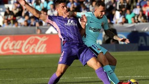 El Barcelona superó al Leganés