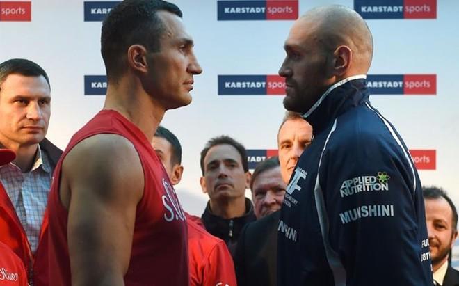 Tyson Fury y Vladimir Klitschko frente a frente. No habr� combate...