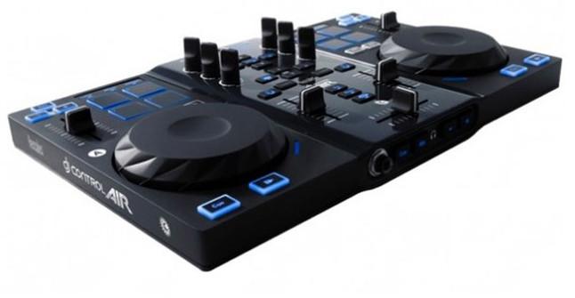 Consigue la mesa de mezclas para dj hercules control air for Mesa de mezclas fonestar