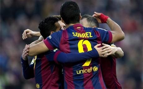 Luis Su�rez se estren� como goleador en la Liga