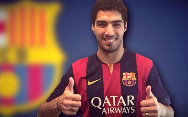 Luis Suarez will be presented as Barcelona player on Monday before Gamper Trophy [Sport]