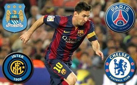 Messi, codiciado