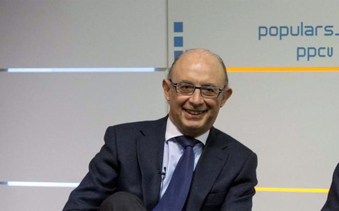 El minsitro en funciones de Hacienda, Crist�bal Montoro