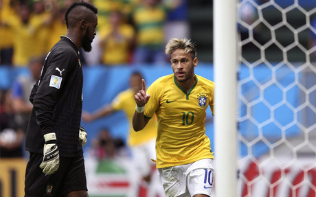 Neymar was the star of the show