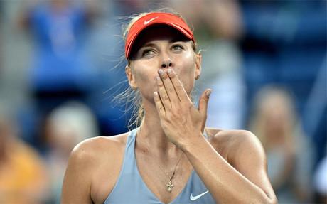 Sharapova agradece el cari�o en el US Open
