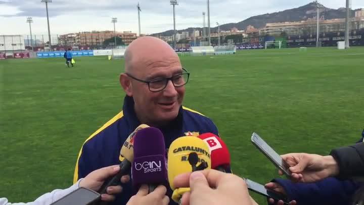 """Xavi Llorens: """"Lo prioritario es llegar 0-0 al minuto 88"""""""