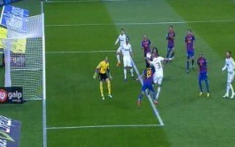 Khedira y Cristiano Ronaldo estaban en fuera de juego