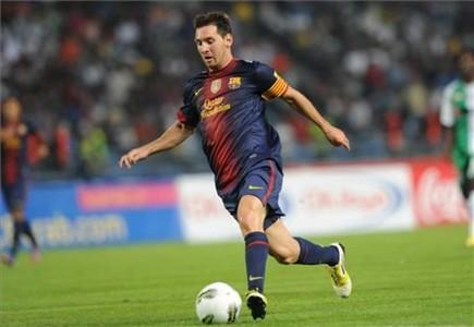 Messi es titular