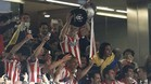 Por fin el Atltico tuvo una alegra ante el Madrid