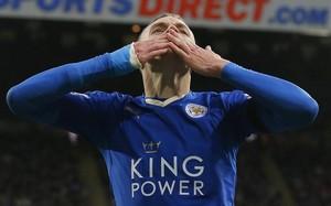 Vardy es el máximo goleador de la Premier con 15 goles