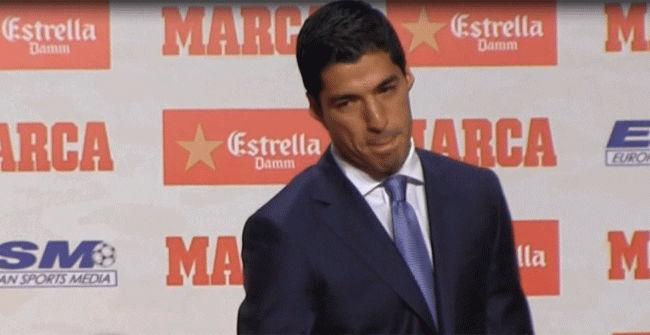 La emoción de Luis Suárez al hablar de su familia