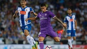Real Madrid y Espanyol juegan en el Bernabéu
