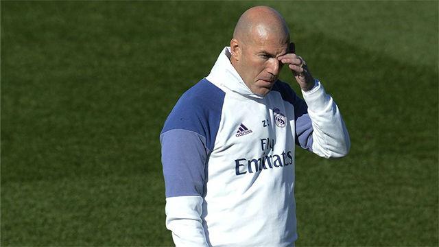 Zidane habló del partido contra el Valencia y de la crisis del Barça