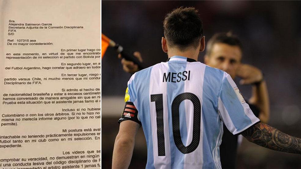 Messi: Mis palabras fueron al aire, no al asistente (ES)