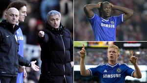 Mourinho descartó a Lukaku, David Luiz y De Bruyne para el Chelsea