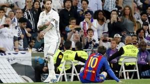 Sanchís habló de la expulsión de Sergio Ramos