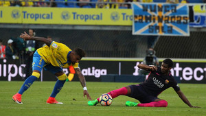 Marlon vuelve al filial tras ayudar al primer equipo ante Las Palmas, Eibar y Alavés en la Copa