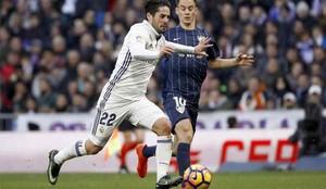 Isco será protagonista en el próximo Málaga - Real Madrid