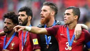 Pepe fue el artífice de la medalla de bronce conquistada por Portugal en la Copa Confederaciones
