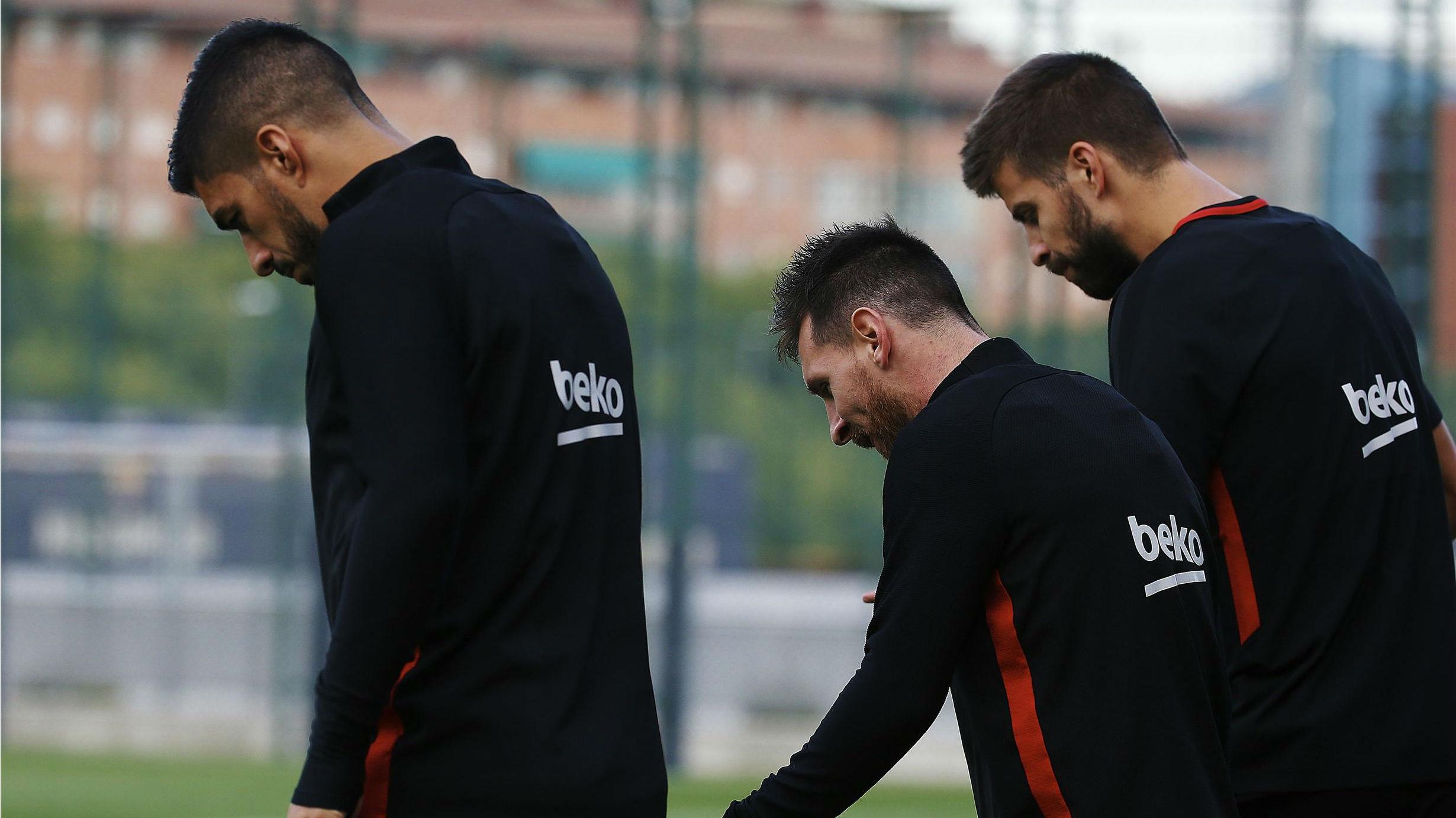 Así preparó el Barça su partido ante el Girona