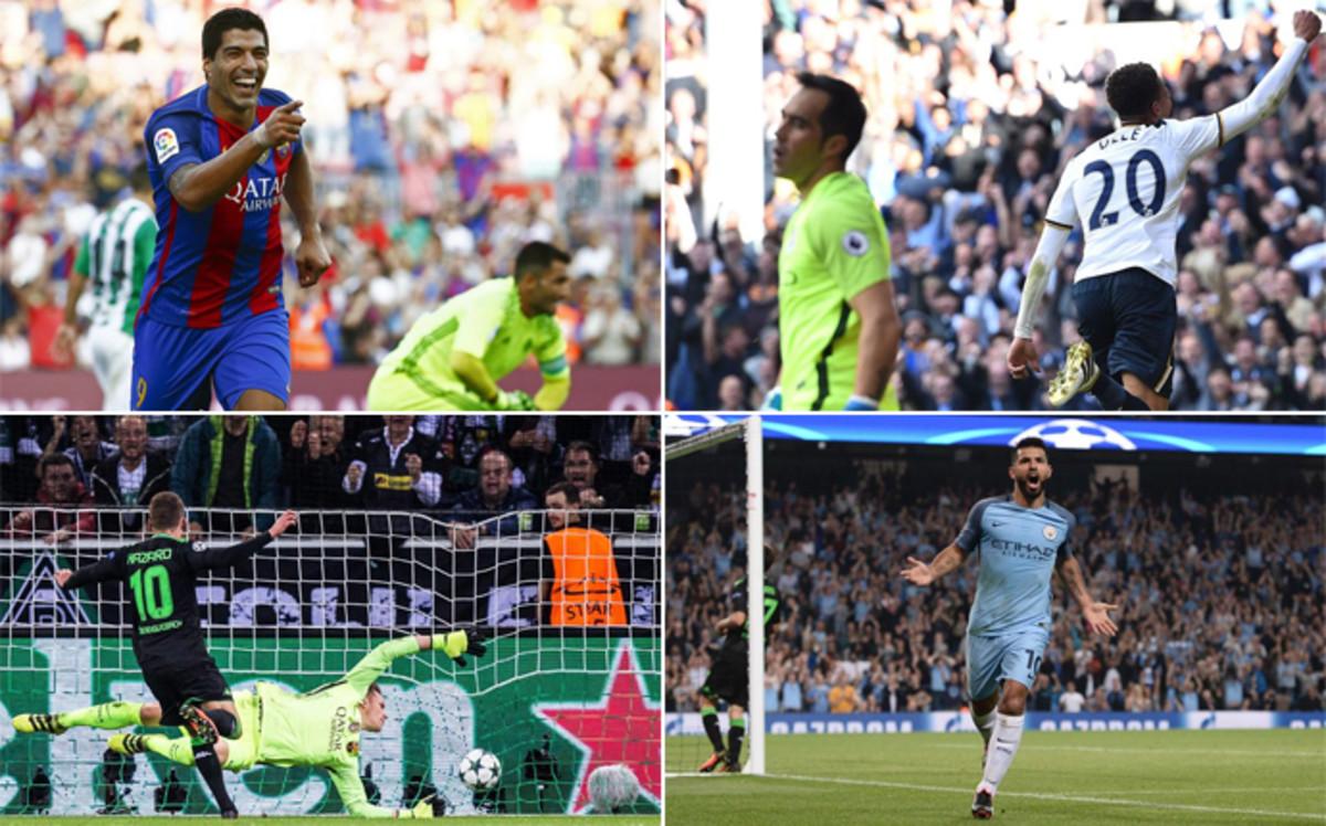 ¿En qué minutos son más letales Barça y Manchester City?