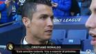 Las declaraciones de Cristiano Ronaldo que indignaron a los ingleses
